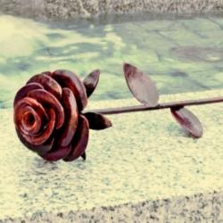 Кованая роза 3