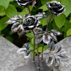 Кованая роза 8