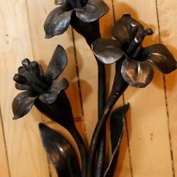 Кованые цветы 12