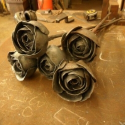 Кованые цветы 4