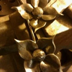 Кованые цветы 9