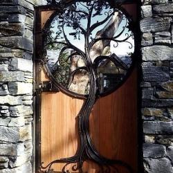 Кованые двери 2