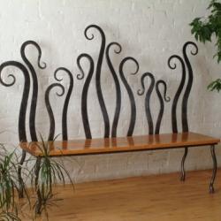 Кованые скамейки 5