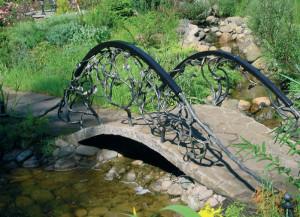 Кованые мосты и мостики
